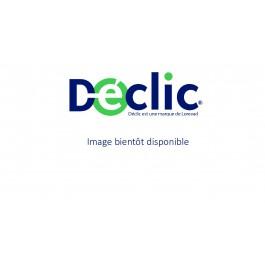 CORBEILLE LUGO CORPS ARGENT COUVERCLE GRIS FONCE