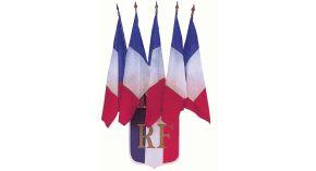 Ecusson porte-drapeau