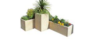 Jardiniere rectangle eco
