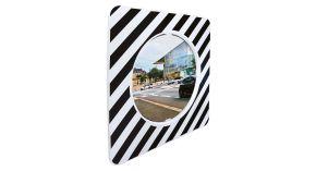 Miroirs réglementaires de carrefour en agglomération type a