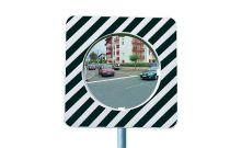 Miroirs réglementaires de carrefour en agglomération type b